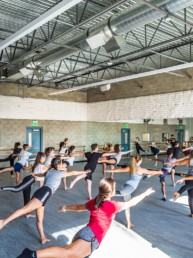 dancers, dance room, orange county school