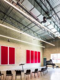 music room, classroom