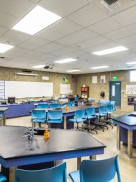 science room, classroom