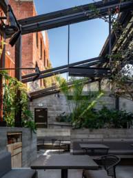 outdoor seating, eating, DTLA, restaurants